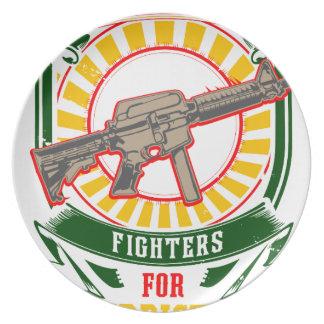 Plato KURDISTAN - YPG - guerrero de la libertad de YPJ
