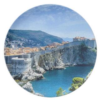 Plato La ciudad vieja de Dubrovnik