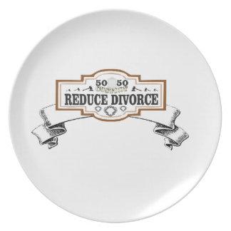 Plato la custodia 50 50 reduce divorcio