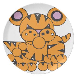 Plato La forma hizo el tigre