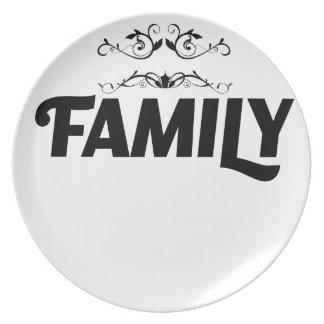 Plato las mejores cosas de la vida son familia