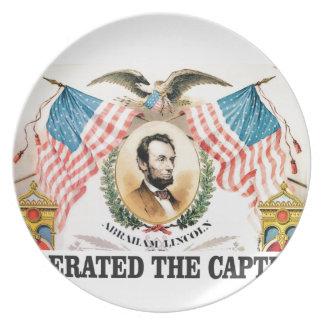 Plato Libertador Lincoln de Abe