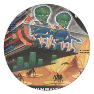 Plato Martian van para un paseo