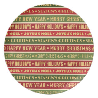 Plato Memorias del navidad
