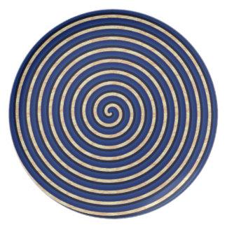 Plato Mofa-MOD-Gres-Azul-Diario-Placas