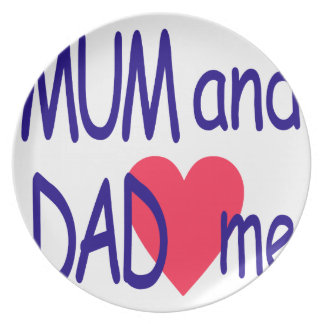 Plato Momia y papá yo, mamá