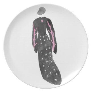 Plato Mujer en trajes