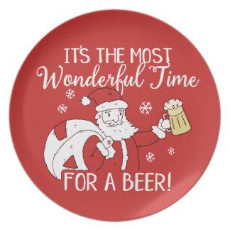 Plato Navidad la mayoría del tiempo maravilloso para una