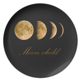 Plato Niño de luna