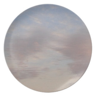 Plato Nubes coloridas