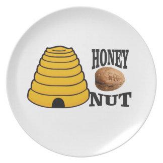 Plato nuez de la miel