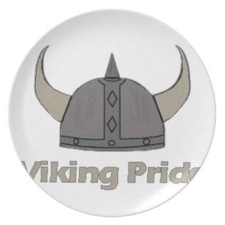 Plato Orgullo de Viking