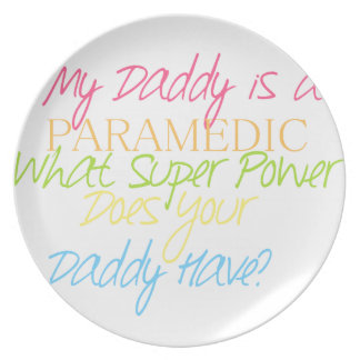 Plato paramédico del niño