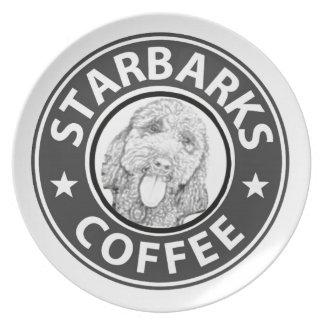 Plato perro Starbucks