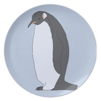 Plato Pingüino grande
