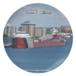 Plato Placa de Cason J. Callaway Soo