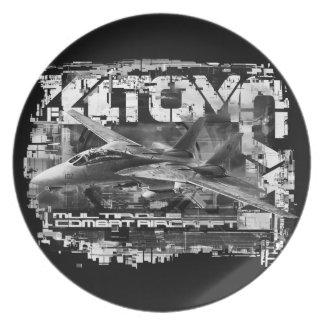 Plato Placa de la melamina de la placa de la melamina de