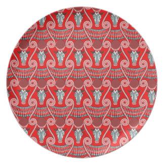 Plato Placa de la melamina de Minotaur