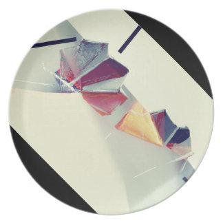 Plato Placa de Origami