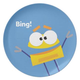 Plato Placa de StoryBots Bing