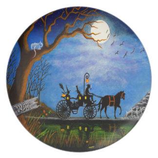 """Plato Placa """" luna de miel del banquete de boda de"""