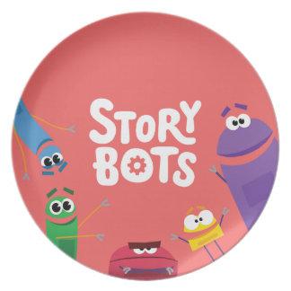Plato Placa roja de StoryBots