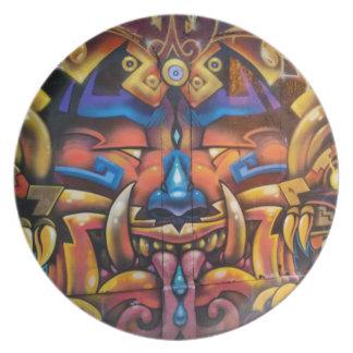 Plato Placa tribal