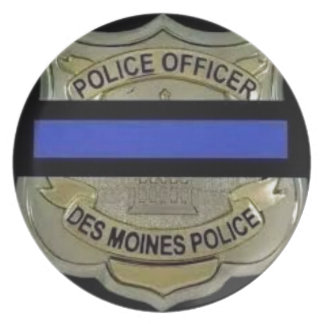 Plato Policía de Des Moines