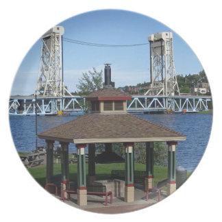 Plato Puente de elevación del lago Portage