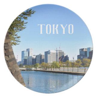 Plato Rascacielos en Tokio, Japón