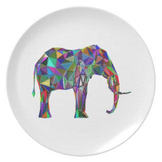 Plato Renacimiento del elefante