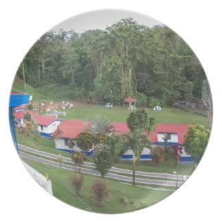 Plato retratamiento de vacaciones en Costa Rica