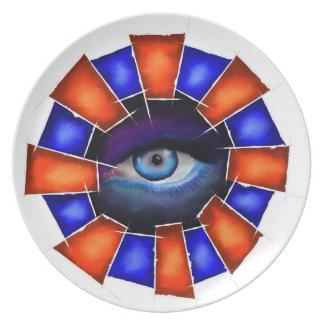 Plato Salvenitus - ojo de observación