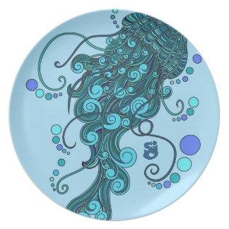 Plato SCI - Medusas - incidente del queso de secuencia -