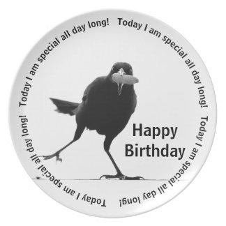 Plato Soy hoy especial - feliz cumpleaños