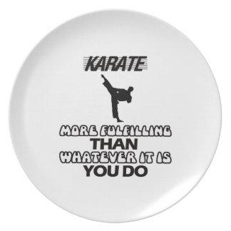 Plato Tender DISEÑOS del karate