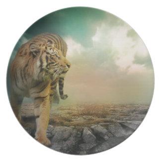 Plato Tigre grande