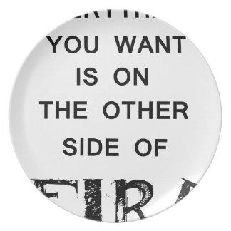 Plato todo que usted quiere está al otro lado de fire.p