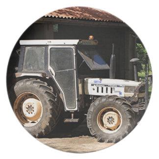 Plato Tractor gris, EL Camino, España