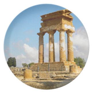 Plato Valle de los templos Sicilia
