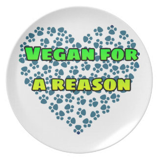 Plato Vegano por una razón