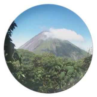 Plato volcán de Arenal