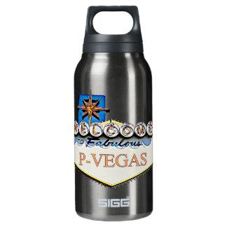 Platteville, botellas de agua de Wisconsin P-Vegas