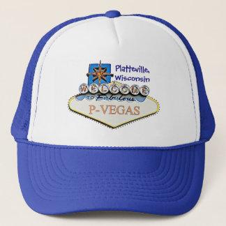 Platteville, gorra de béisbol del agua de