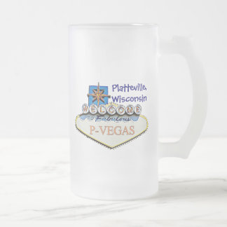 Platteville, taza de las botellas de agua de