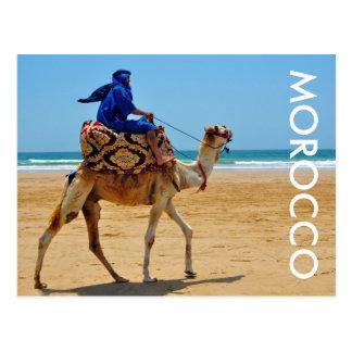 playa árabe de la playa del camello del paseo de postal