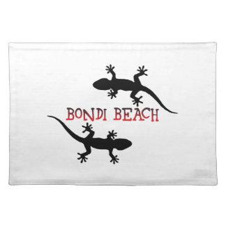 Playa Australia de Bondi Salvamanteles