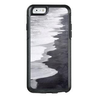 Playa blanco y negro escénica funda otterbox para iPhone 6/6s