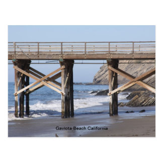 Playa California de Gaviota Postal