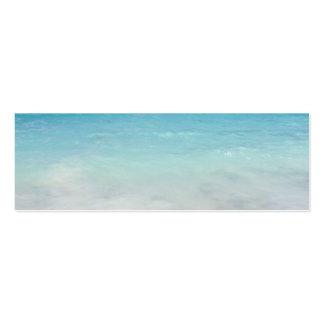 Playa Culebra del flamenco Tarjetas Personales